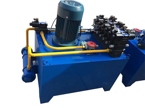 单机单泵电炉液压系统